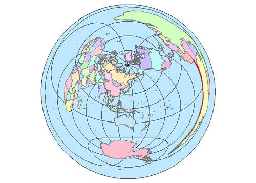 世界の見え方が変わる?変わった世界地図の投影法 3 選 | ArcGIS ...