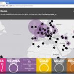 ロンドン オリンピックが終わりました ~ ArcGIS Onlineで振り返る~