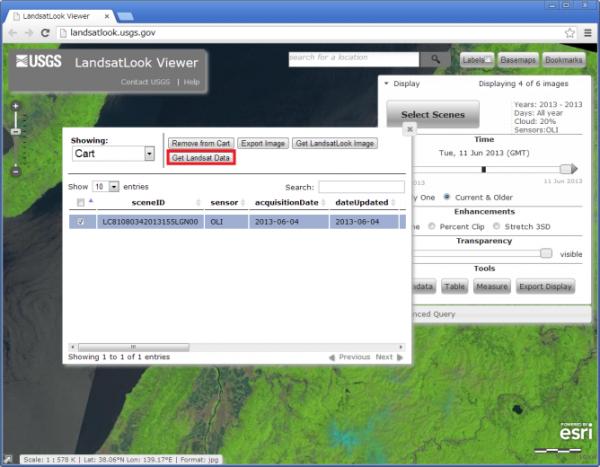Get Landsat Data