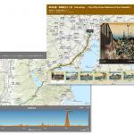 浮世絵ストーリー マップ第 2 弾!地図上で歌川広重の『東海道五十三次』をご紹介!