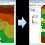 ArcGIS 3D Analyst -地形情報の差分方法-