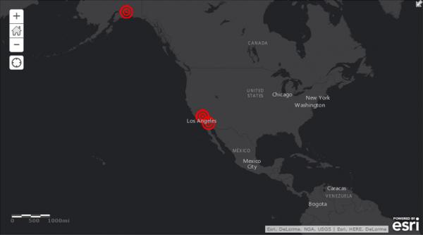 地震情報の読み込み更新
