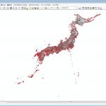 日本一水部面積の割合が低い都道府県はどこ?