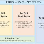 「ESRIジャパン データコンテンツ」をリリースしました!