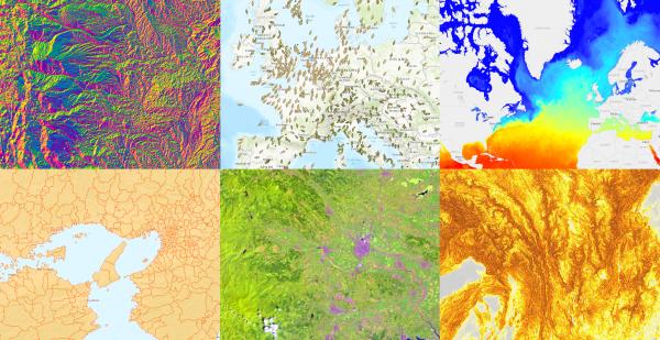 ArcGIS Online ベースマップ