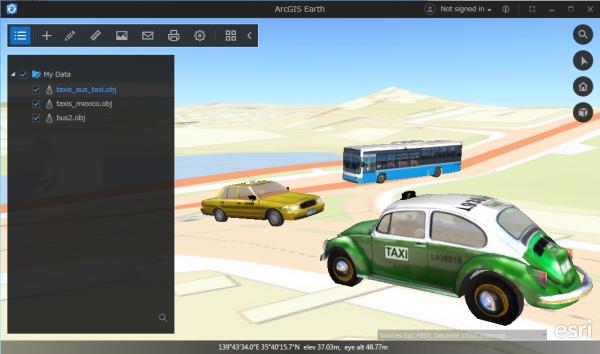 3D モデルのサポート