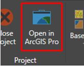 ArcGIS Pro へのダイレクト接続