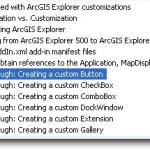 ArcGIS Explorer のカスタマイズ Part 3. アドインの作成