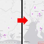 ArcGIS Online のマップにレイヤーの著作権情報を表示する方法
