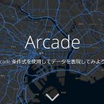 ArcGIS Arcade を使ってみよう!!