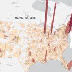 ArcGIS Proでニューヨーク・タイムズの新型コロナの時系列データを可視化する方法