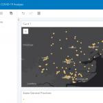 ArcGIS Insights を使った新型コロナウイルスの解析事例