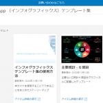 新しいタイプの商圏レポート「インフォグラフィックス」のテンプレート集を公開しました