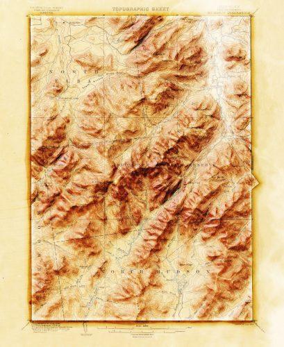 地形マップ