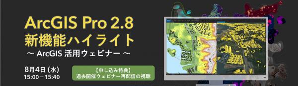 ArcGIS Pro 2.8 新機能ハイライト